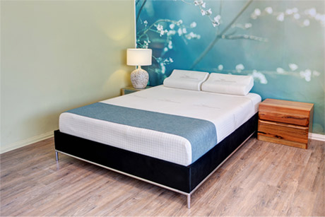 Ultimate Beds'® exclusive 7 zone mattress design and technology
